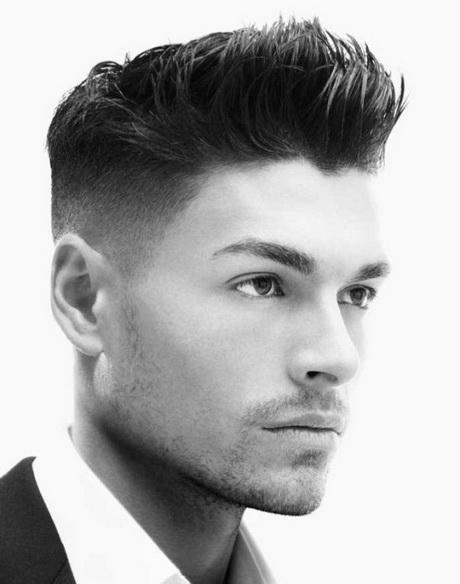 Coupe de cheveux courte homme 2014