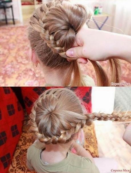 Modele coiffure enfant fille