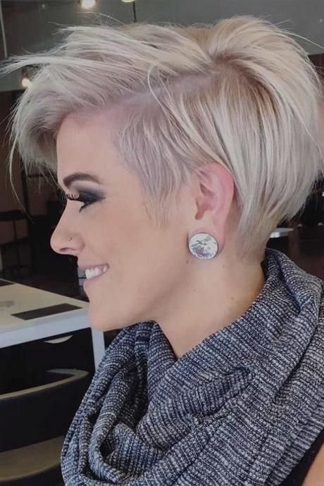 Coiffure cheveux courts femme 2018