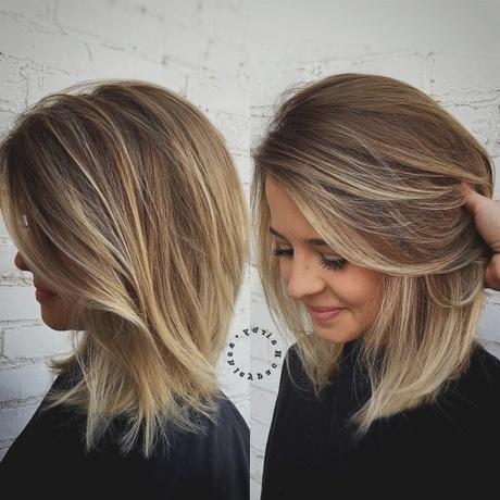 Coupe cheveux femme mi long 2018 - Photo coupe mi long femme ...