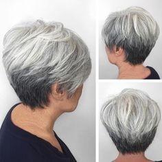 Coupe cheveu court femme 60 ans