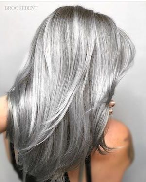 Carre plongeant gris