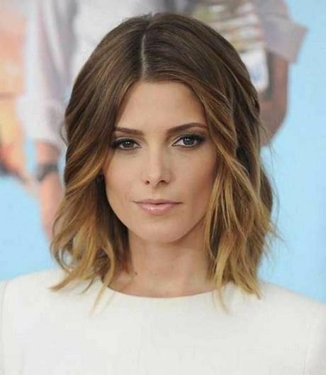 coupe de cheveux demi long