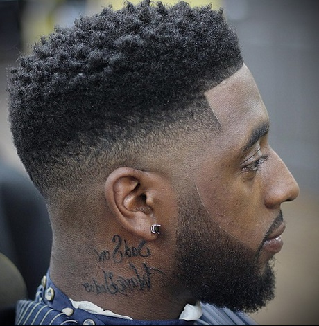 Coupe de cheveux d grad homme noir - Coupe afro garcon ...