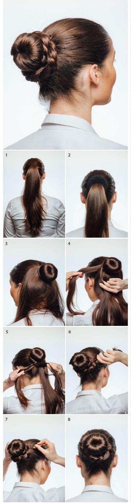 Faire un chignon avec des cheveux courts