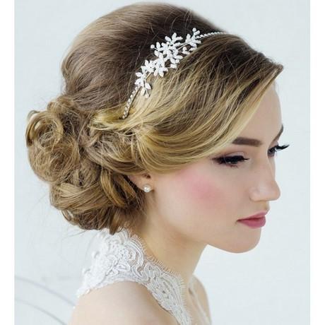 Chignon mariage headband