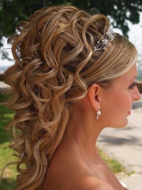 Style Coiffure Cheveux Boucles Mi Long Mariage Coiffure Mariage Cheveux Mi  Long Coiffure Mariage Cheveux Mi