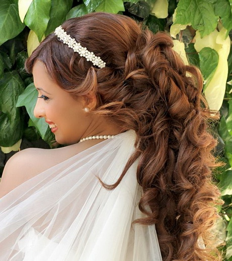 Modele de coiffure pour mariage cheveux long