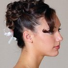Coiffure cheveux courts mariage