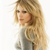 Coiffure cheveux long blond