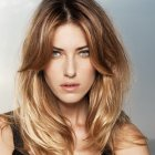 Coiffure cheveux long fin