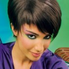 Coiffure coupe boule