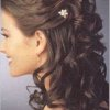Coiffure mariage boucles