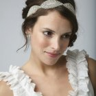 Coiffure mariage carre