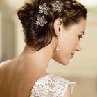 Coiffure mariage cheveux court 2014