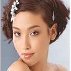 Coiffure mariage cheveux courts photos