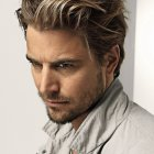 Coupe cheveux longs homme