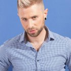 Coupe homme tendance court