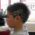 Dessin coiffure homme