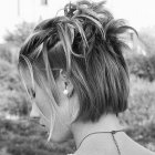 Idee coiffure mariage cheveux court