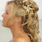 Photo coiffure mariage cheveux long