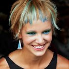 Tendance coiffure cheveux courts 2015