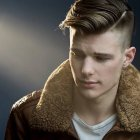 Cheveux style homme