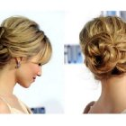 Photo coiffure chignon