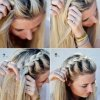 Coiffure tresse francaise
