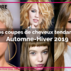 Coiffure mode femme 2019
