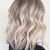 Coiffure mi long blond 2018