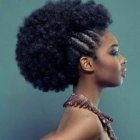 Boucler cheveux afro