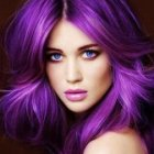 Image coloration cheveux