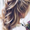 Coiffure mariage cheveux long 2020