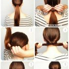 Chignon classe et simple