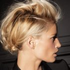 Chignon rock top tendance
