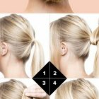 Des chignon simple