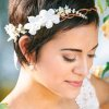 Headband cheveux courts mariage