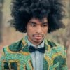 Model coiffure afro homme
