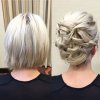 Chignon carré court