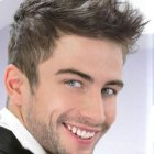 Coiffure simple homme