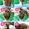 Chignon rapide et simple