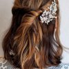 Coiffure temoin mariage cheveux court