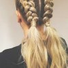 Coiffure tresse couette