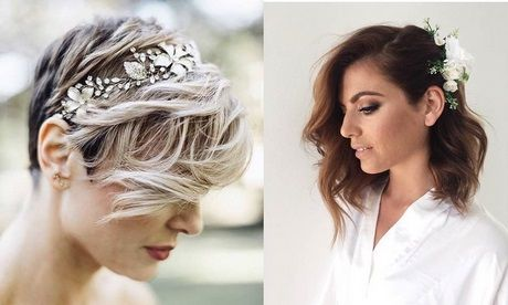 Coupe cheveux court mariage