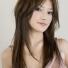 Coupe originale cheveux long