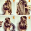 Modele chignon simple