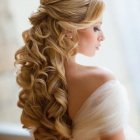 Cheveux long mariage