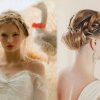 Coiffure natte mariage