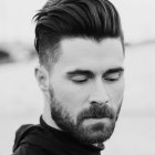 Homme coupe cheveux